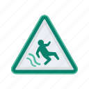 alert, sign, signs, warning, water icon
