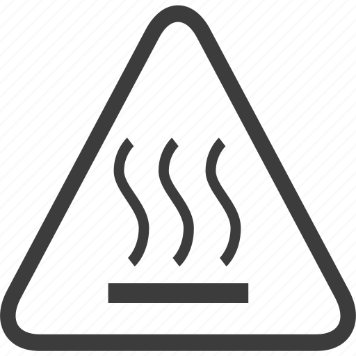 Heat, hot, sign, warning, warning sign icon - Download on Iconfinder
