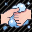 clean, foam, handwash, medical, soap, virus, washing