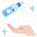 alcohol, clean, hand, sanitizer, spray, virus, wash