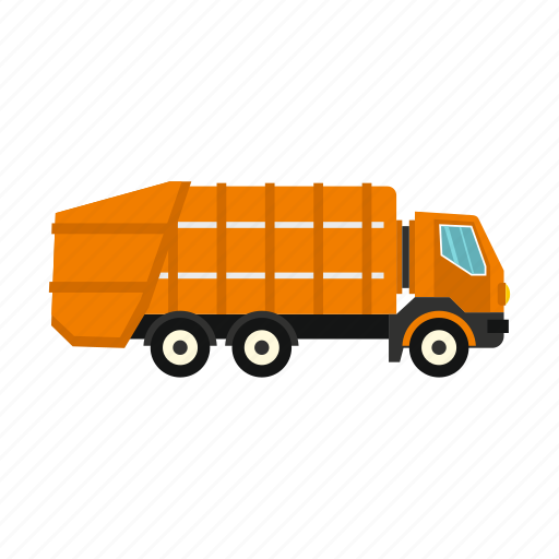 dump, dumper, garbage truck, heavy, logo, machinery, truck icon