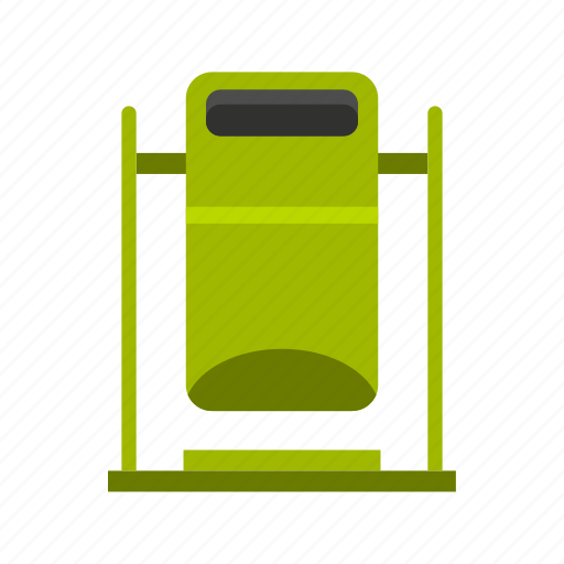 household, logo, protection, swinging trashcan, throw, traditional, trash icon