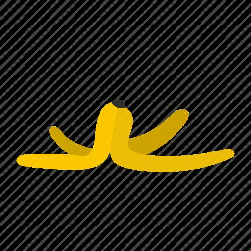 accident, banana skin, garbage, logo, risk, slip, slippery icon