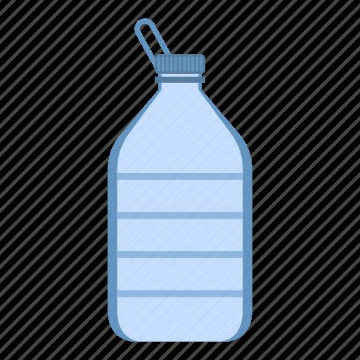 big, bottle, container, drink, full, liquid, plastic icon