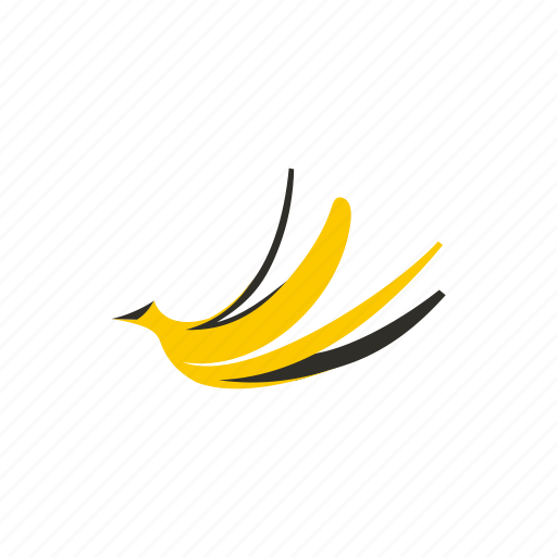 banana, food, fruit, healthy, organic, peel, skin icon