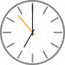 alarm, date, oclock, seven, time, timer, watch icon