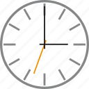 alarm, clock, oclock, three, time, timer, watch icon