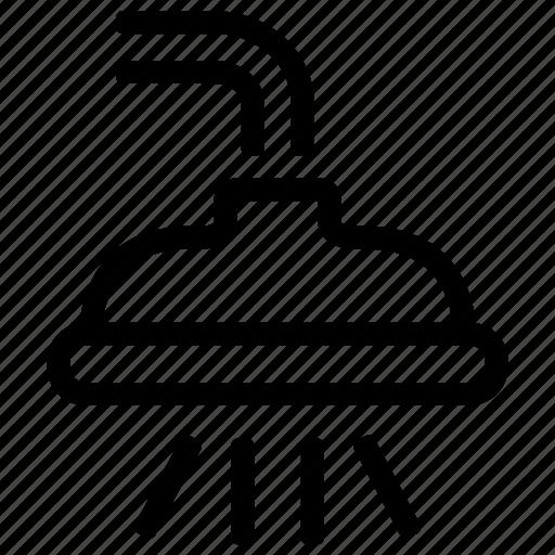 Bath, interior, shower, water icon - Download on Iconfinder