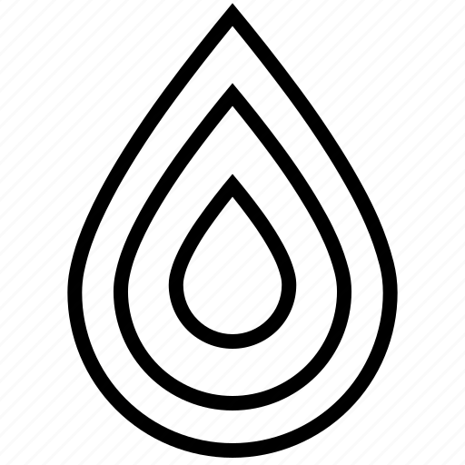blood, cloud, drop, droplets, line, liquid, rain, volume, water, weather icon