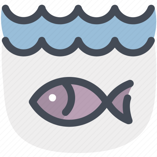 fish, fishing, river, sea, under, water, wave icon