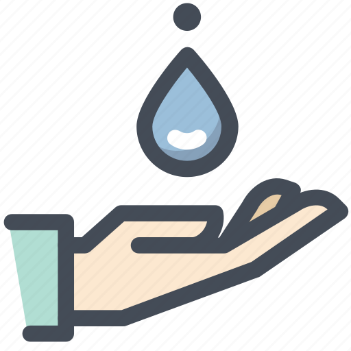 care, clean, drop, drug, hands, healthcare, water icon
