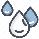clean, drink, drop, liquid, transparency, water, waterproof icon