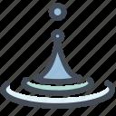 drop, drop water, liquid, spa, water, waterproof icon