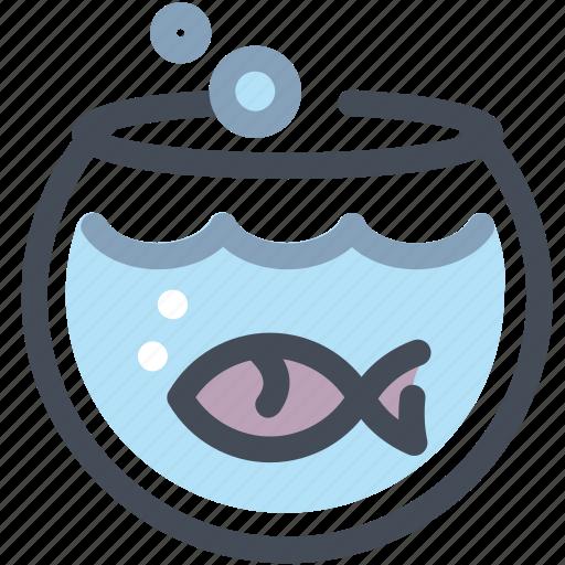 animal, fish, water icon