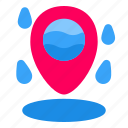 water, location, map, pin, navigation, gps, direction