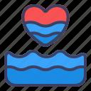 love, water, romance, drop