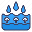 up, water, drop, arrow, direction, down, navigation