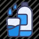 drink, bottle, water, drop, energy