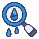 search, water, life, find, magnifier, zoom