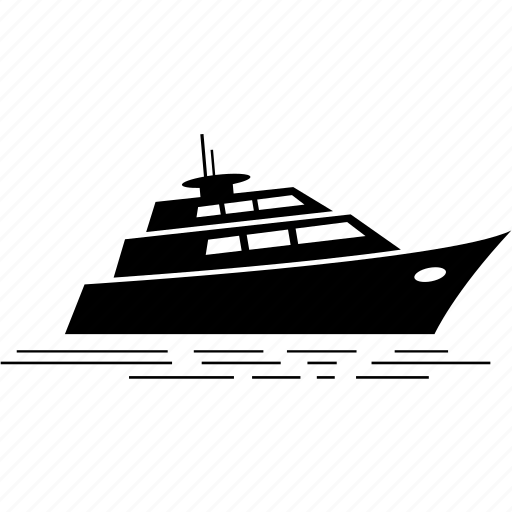 boat, luxury, ship, yacht icon