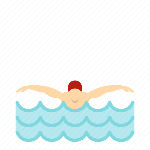 butterfly, exercise, race, sport, stroke, swimmer, young icon