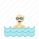 diving, ocean, scuba, sea, sport, underwater, water icon
