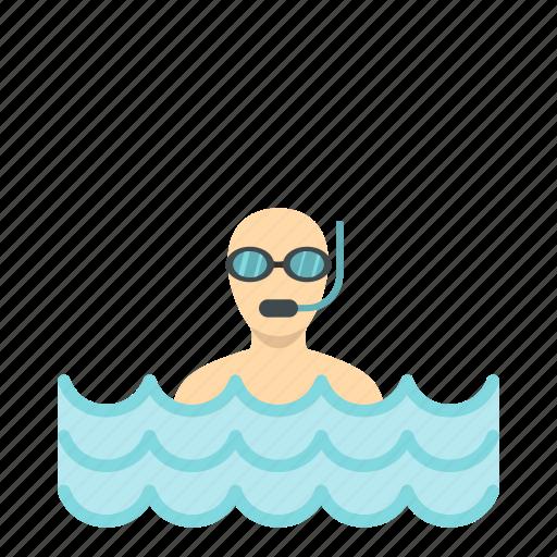 diving, ocean, scuba, sea, sport, underwater, water icon