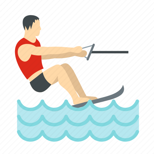 active, extreme, outdoor, ski, sport, summer, water icon