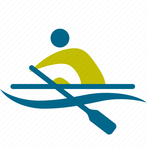 man, olympic, person, play, rowers, rowing, sport, sports, swimmer, swimming icon