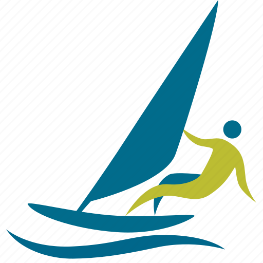 board, man, olympic, people, person, rowers, rowing, sport, sports, surf, swimmer, swimming, watersport, windsurfing icon
