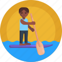 kayaki, paddle, boat, watersports