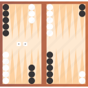 backgammon, board, game, tournament