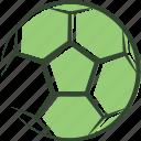 ball, football, green, logo, soccer