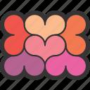 box, frame, heart, love, wedding icon