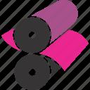 cylinders, press, printer, offset, print, printing icon