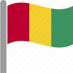 country, flag, guinea, guinean, new, papua, waving icon