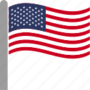 american, americans, flag, state, united states of america, us, usa icon