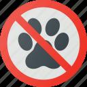 allowed, animals, find, no, sign, wayfinding
