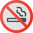 find, no, sign, smoking, wayfinding icon