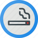 area, find, sign, smoking, wayfinding icon