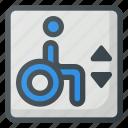 accessible, elevator, find, sign, wayfinding, wheelchair