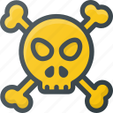 danger, death, find, map, of, sign, wayfinding icon