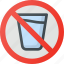 dont, drink, find, map, sign, wayfinding icon