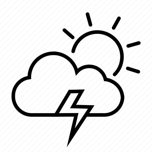 Cloud, lightning, rain, storm, thunder, thunderstorm icon - Download on Iconfinder