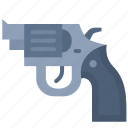 carbine, danger, handgun, pistol, protection, short gun, weapon icon