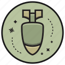 army, bomb, gun, military, missile, weapon icon