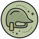 army, gun, helm, military, soldier, weapon icon