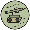 army, gun, military, missile, pistol, weapon icon
