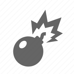 bomb, dynamite, exploading, explosion, explosive, weapon, weapons icon