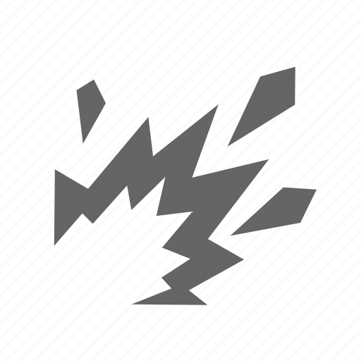 danger, exploading, fire, flame, warning icon